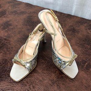 Prada Vero Cuoio Slingback sandals